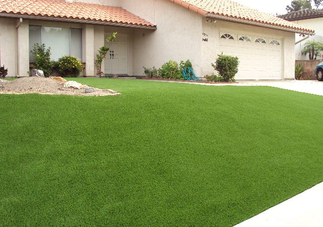 Eco-Friendly Artificial Grass Lawn