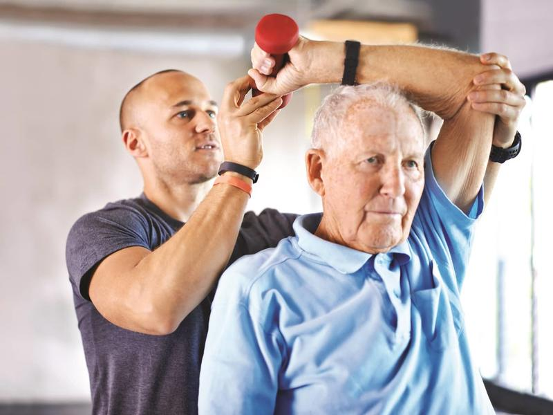 Physical Therapy Helps Elderly